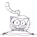 Disegno da colorare – Gatto