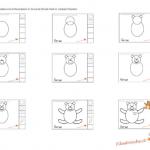 Impariamo a disegnare – L'orsetto, istruzioni