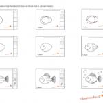 Impariamo a disegnare – Il pesciolino, istruzioni