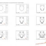 Impariamo a disegnare – La ranetta, istruzioni