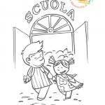 Disegni da colorare: comincia la scuola!