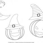 Disegni da colorare per Halloween: le zucche