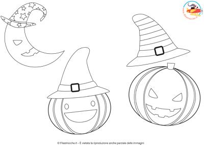 Disegni Da Colorare Per Halloween Le Zucche