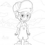Disegni da colorare: Hed #2
