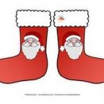 Addobbi di Natale fai da te: calzette da appendere