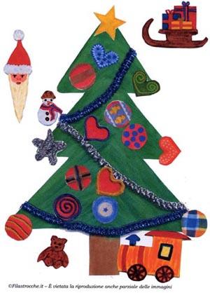 Crea e addobba l'Albero di Natale