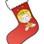 Calze di Natale da appendere