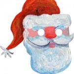 Le maschere per Natale fai da te