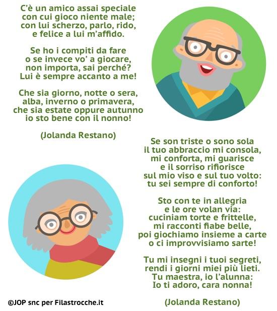 Poesie Di Natale In Sardo.Festa Dei Nonni Filastrocche E Poesie Per I Nonni