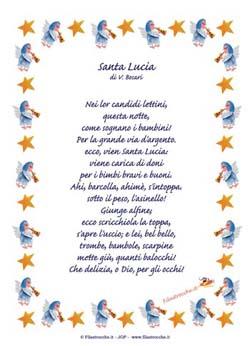 Poesie in Cornice per Santa Lucia