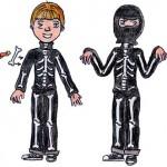 Costume per Halloween: lo Scheletro