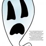 Decorazioni per Halloween: il fantasmino