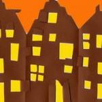 Decorazioni per Halloween: il villaggio delle streghe