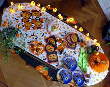 Decorazioni per halloween per un ambiente spettrale e pauroso for Decorazioni feste