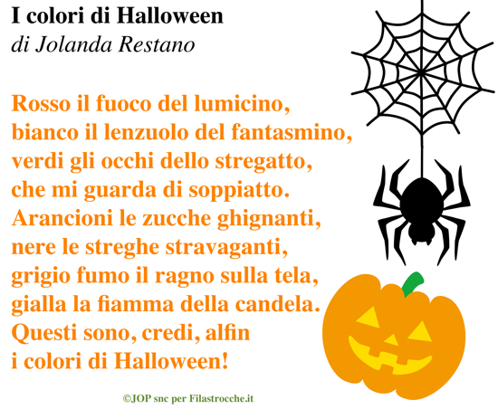 Filastrocche per Halloween