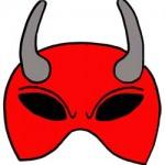Maschere per Halloween: il diavolo