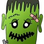 Maschere per Halloween: Frankenstein