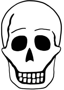 Halloween Maschere.Maschere Per Halloween Il Teschio Halloween Su Filastrocche It