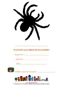 Inviti da appendere per la Festa di Halloween