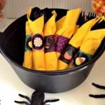 Halloween: portatovaglioli fai da te