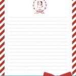 Letterina a Babbo Natale da stampare