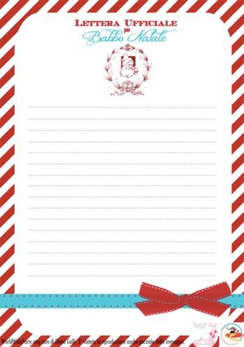 Babbo Natale Letterine.Letterina A Babbo Natale Da Stampare Natale Su Filastrocche It