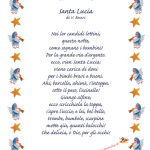 Poesie per Santa Lucia e ultimi preparativi per la festa