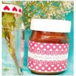 Idea regalo per San Valentino: etichette per Nutella e altri barattoli