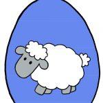 Decorazioni pasquali fai da te: Uova di Pasqua colorate da appendere