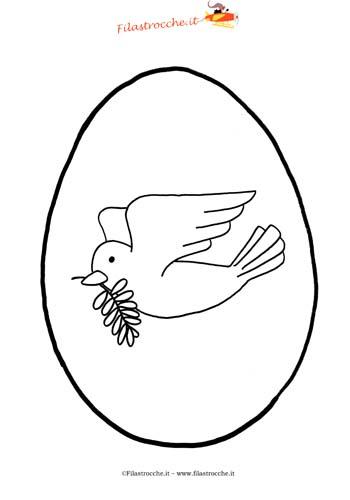 Disegni da colorare per Pasqua