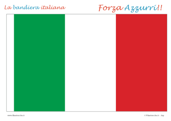 Bandiera Italiana fai da te
