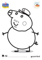 Disegni Da Colorare Di Peppa Pig Filastrocche It