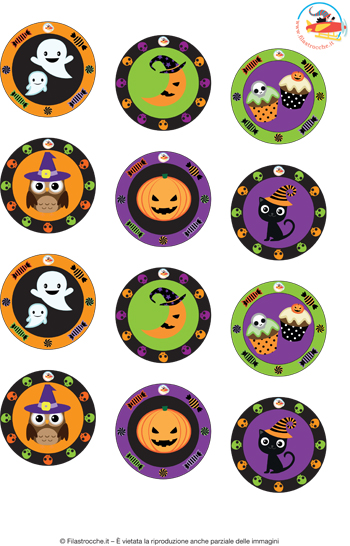 Adesivi per Halloween