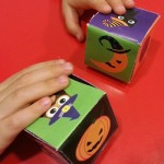 Porta dolcetti di Halloween fai da te