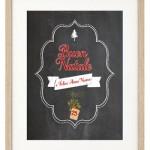 Poster di Natale fai da te