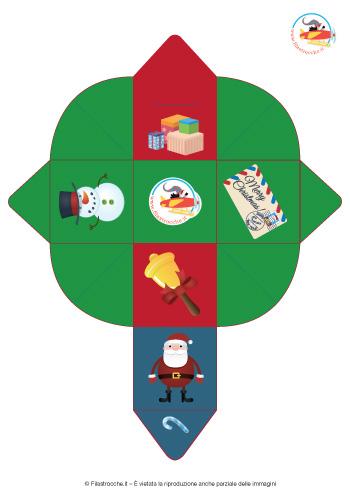 Scatolette di Natale fai da te