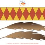 Accessori per Carnevale: la fascia da Indiano