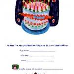 Inviti da appendere per la Festa di Compleanno