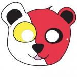Maschere di Carnevale: orsetto e topolino
