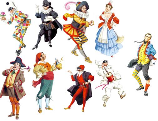 Storia E Origini Delle Maschere Della Commedia Dell Arte