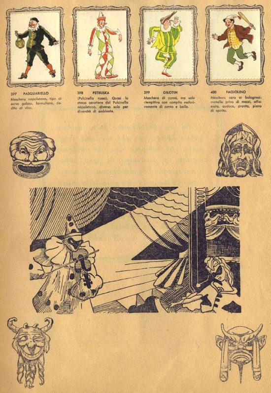 maschere della Commedia dell'Arte