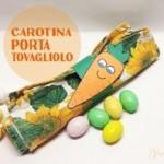 Carotine portatovaglioli per Pasqua