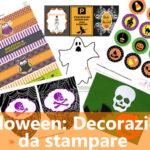 Halloween: Decorazioni da stampare
