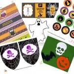 Halloween, Decorazioni da stampare