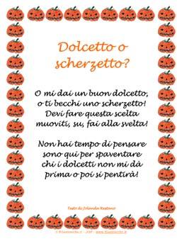 Le Piu Belle Filastrocche Di Halloween Filastrocche It