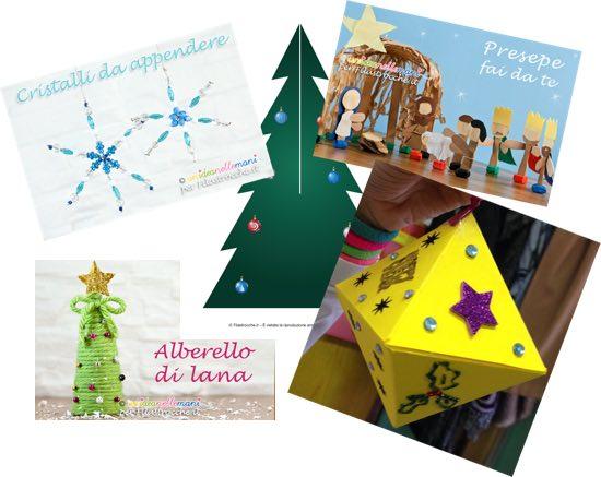 Lavoretti Di Natale Decorazioni E Addobbi Natalizi Fai Da Te