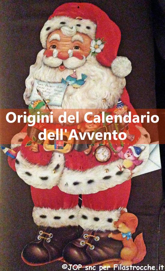 Origini del Calendario dell'Avvento