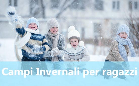 Campi invernali per ragazzi