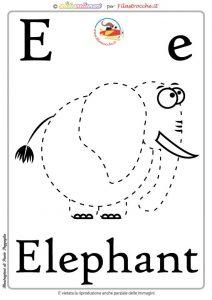 Schede alfabeto inglese da stampare
