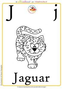 lettera alfabeto da colorare